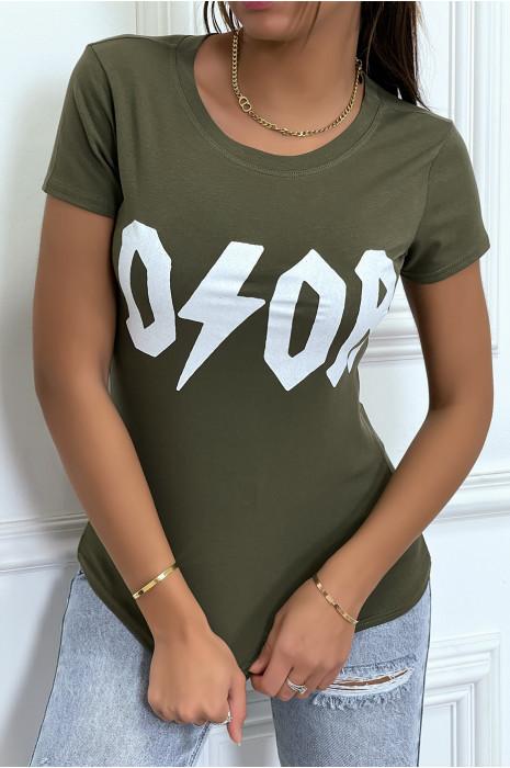 Tee-shirt gris D/OR