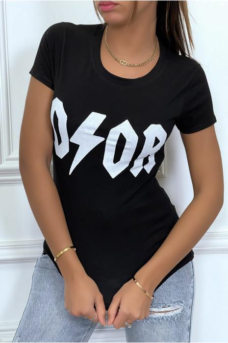 Tee-shirt noir D/OR