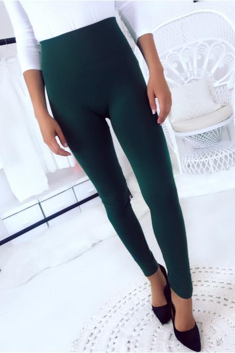 Dikke antraciet legging met platte buik van binnen gewatteerd.