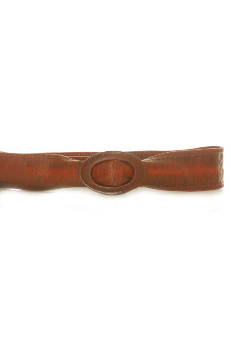 Ceinture Bordeaux en simili cuir - BG - 3003