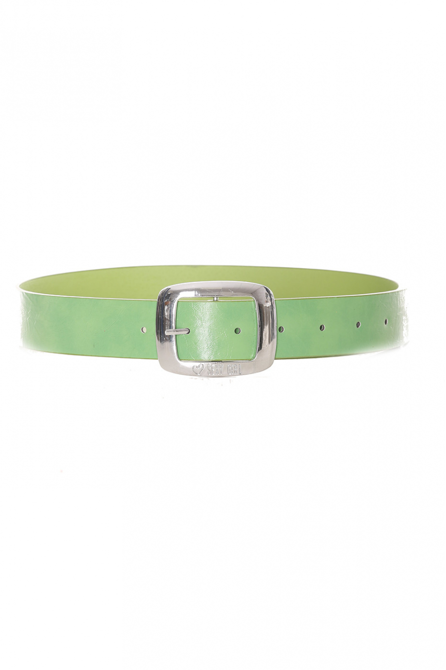 Basic green solid green belt - D7358