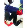 Grosse ceinture en suédine avec boucle ovale. Accessoire mode femme tendance