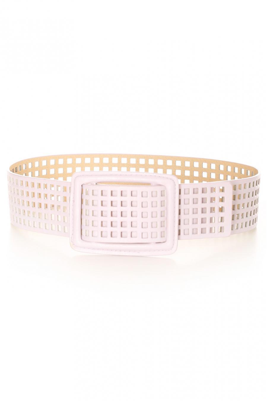 Parma grid belt with holes. SG-0452