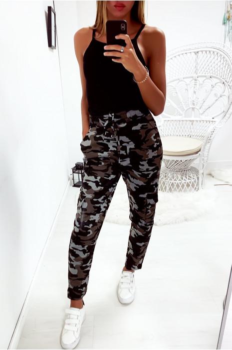 Magnifique pantalon treillis militaire kaki