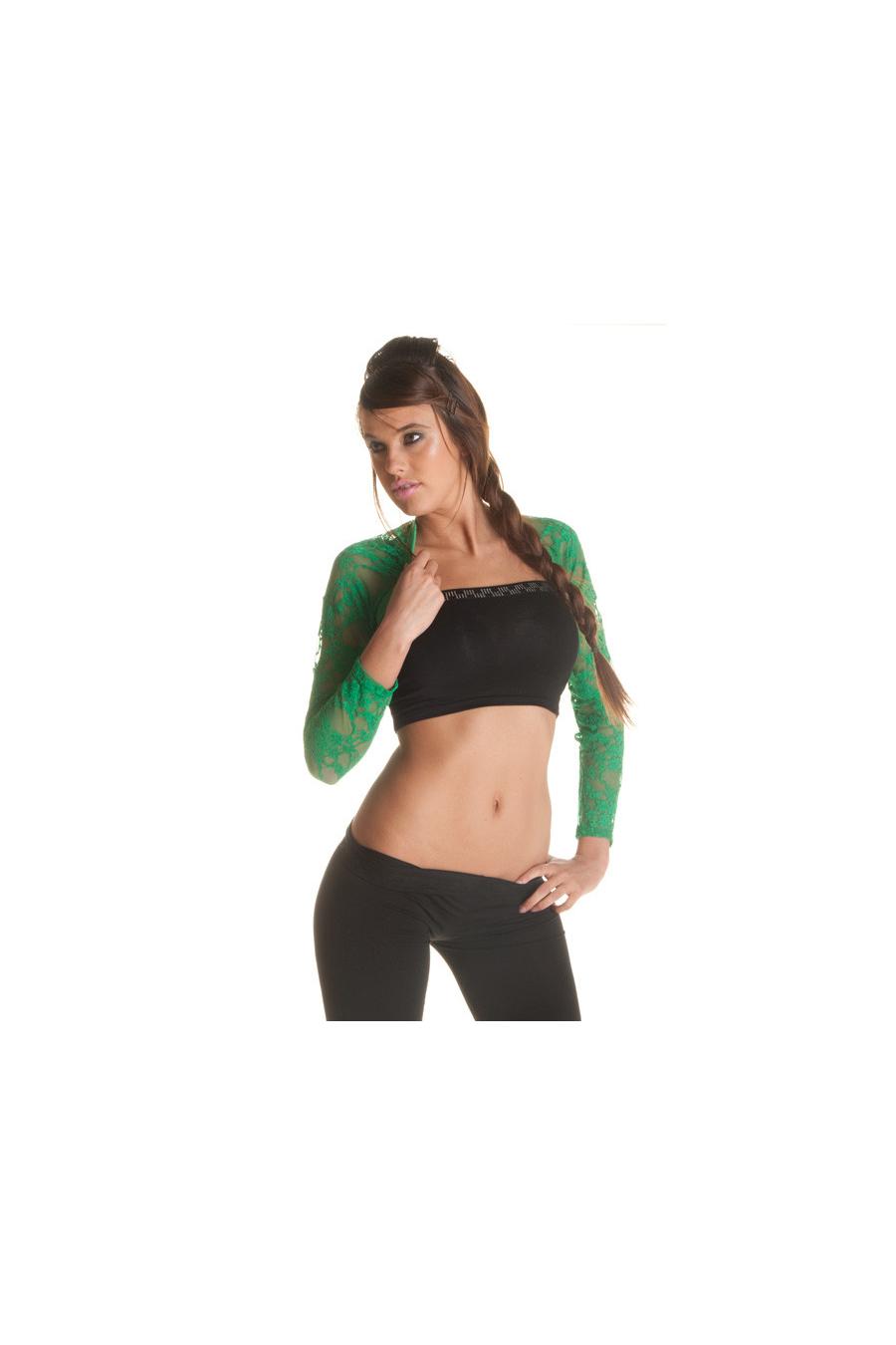 Boléro femme en dentelles différent colorie. Mode petit prix
