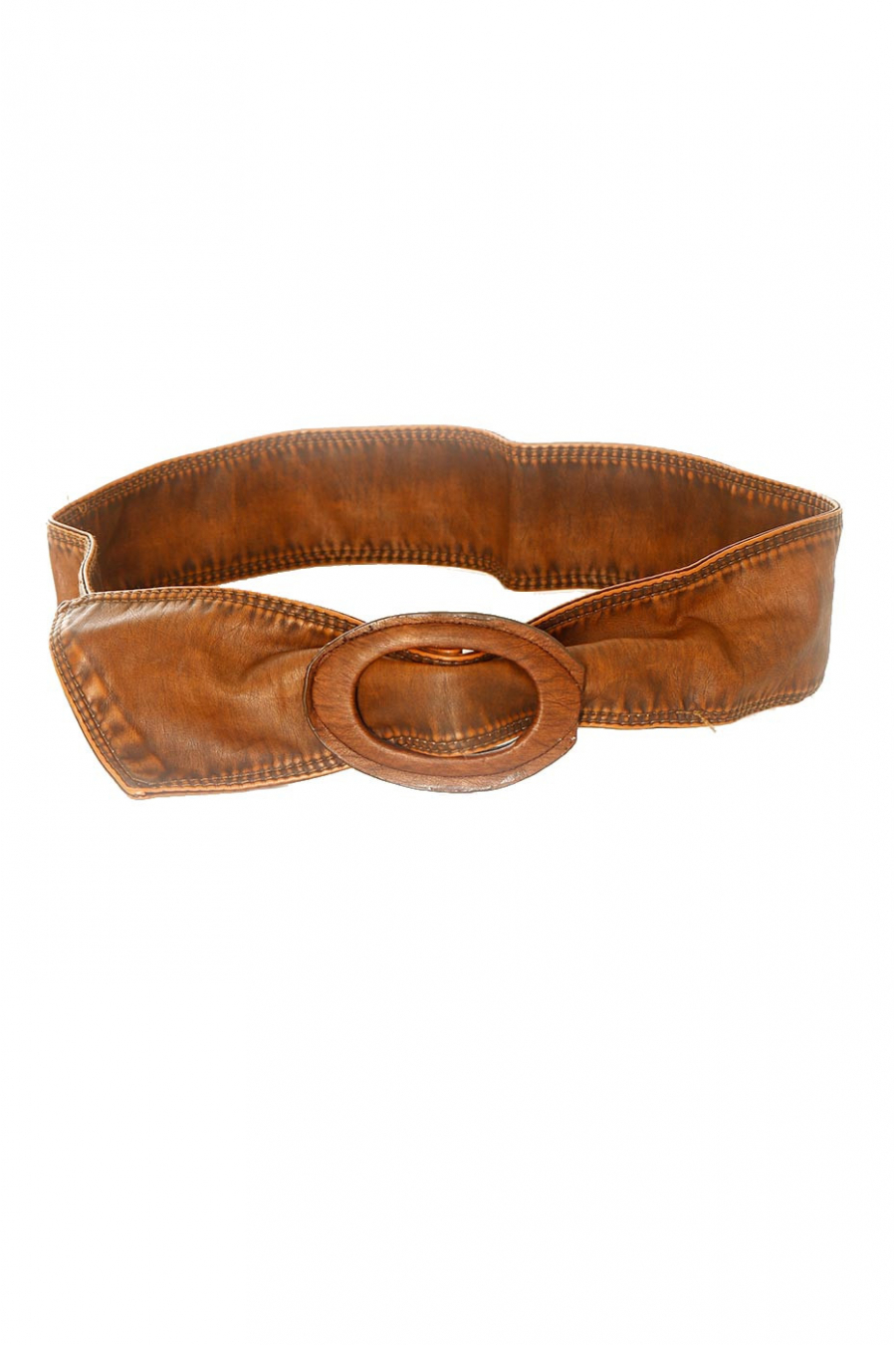 Soft belt with large choco buckle. BG-3003