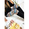 Joli legging coloré à motif zigzag - G9-204