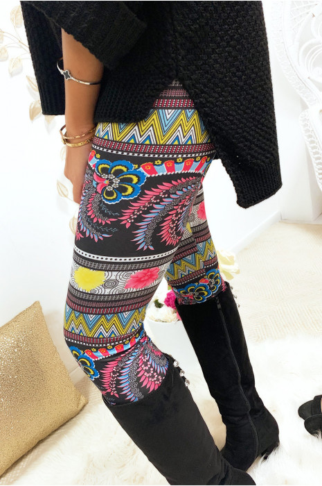 Joli legging coloré multicolor 9-247