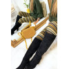 Acrylic winter leggings in Khaki, Camel, Choco and pretty pattern. Cheap Leggings. 105