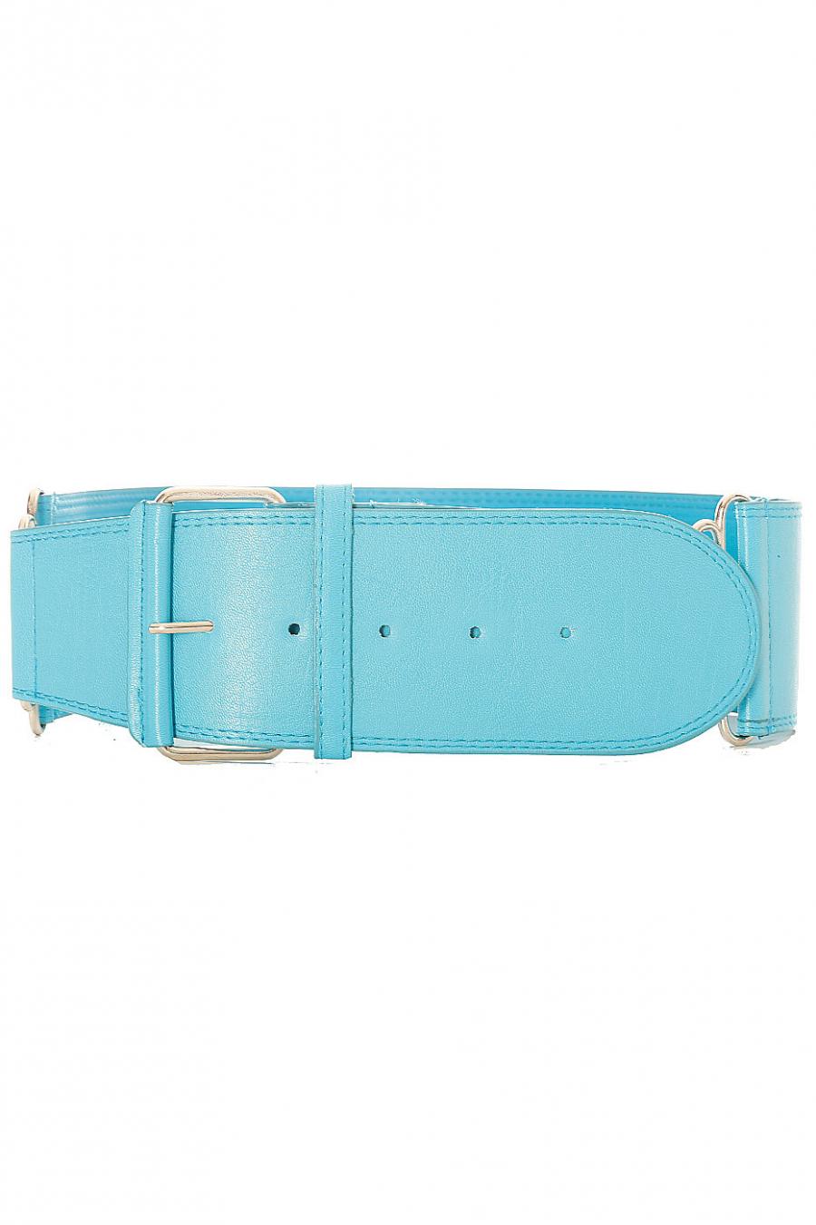 Grosse ceinture turquoise très tendance. SG-0418