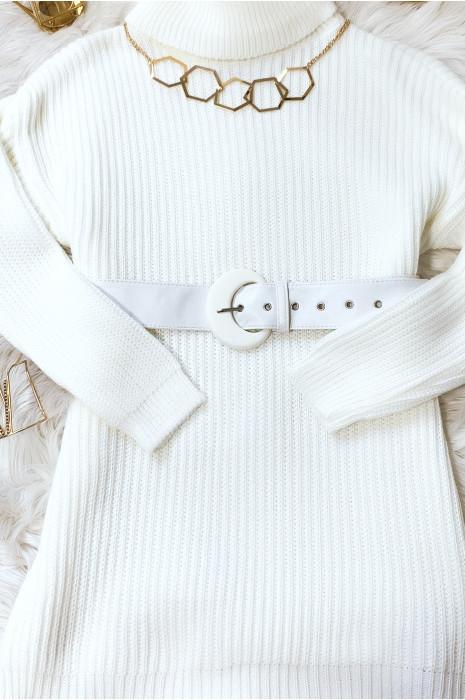 Witte riem verkocht in verpakkingen van 12