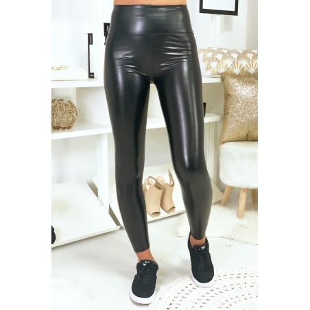 Magnifique leggings noir en simili