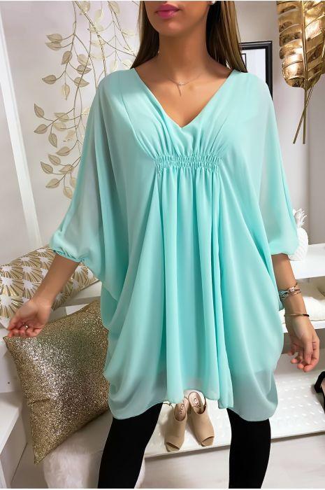 Tunique turquoise