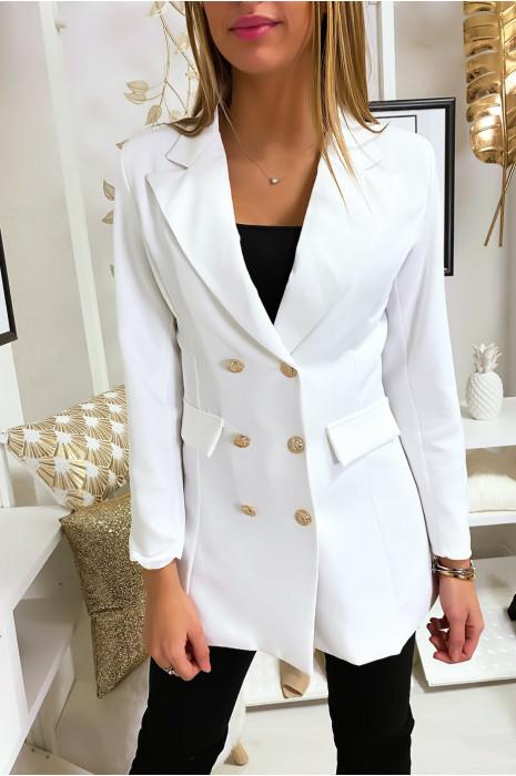 White blazer jacket for women