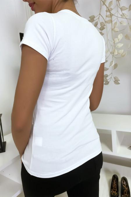 White Mickey T-shirt