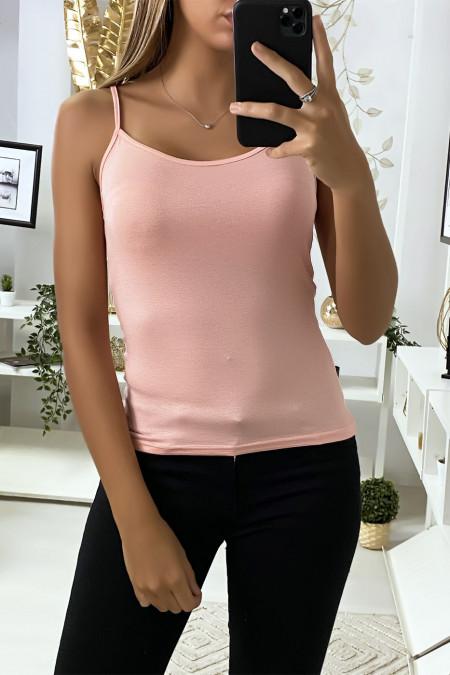 Light pink tank top, basic top.
