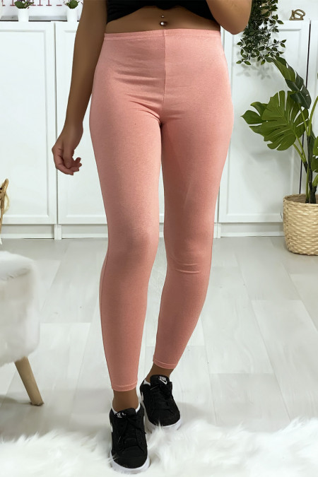 Basic effen roze legging.
