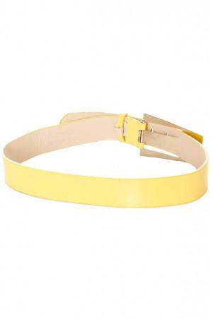 Red belt, rhinestone buckle. B6-0066