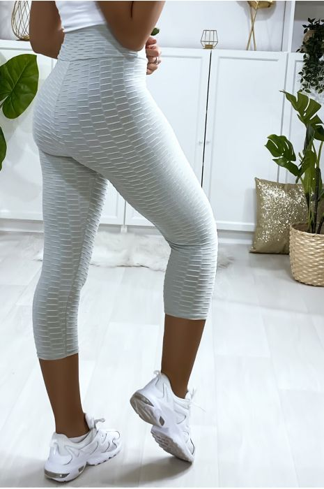 Legging corsaire Push Up gris très fashion