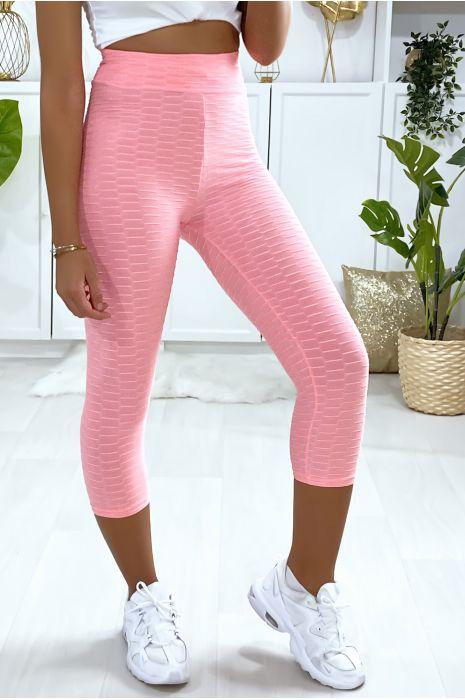 Modieuze roze Push Up corsair legging