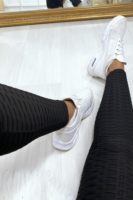 Zeer modieuze zwarte push-up legging