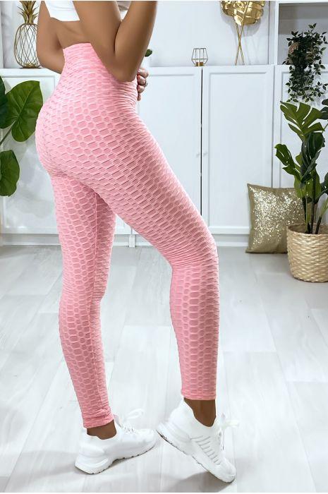 Legging Push Up rose très fashion. Le best seller du moment