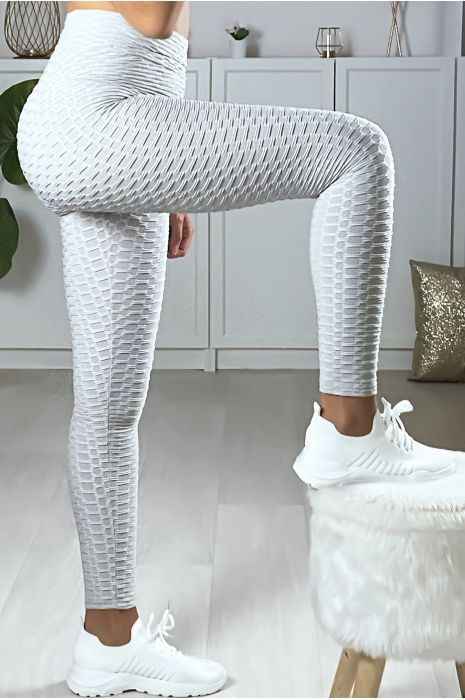 Legging Push Up gris très fashion. Le best seller du moment