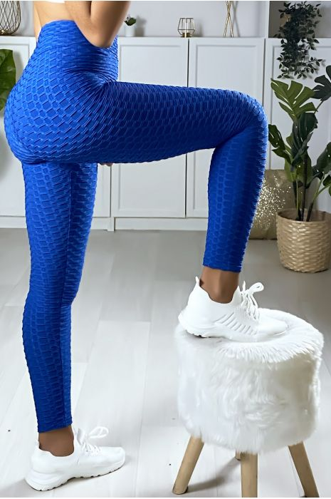 Legging Push Up royal très fashion. Le best seller du moment