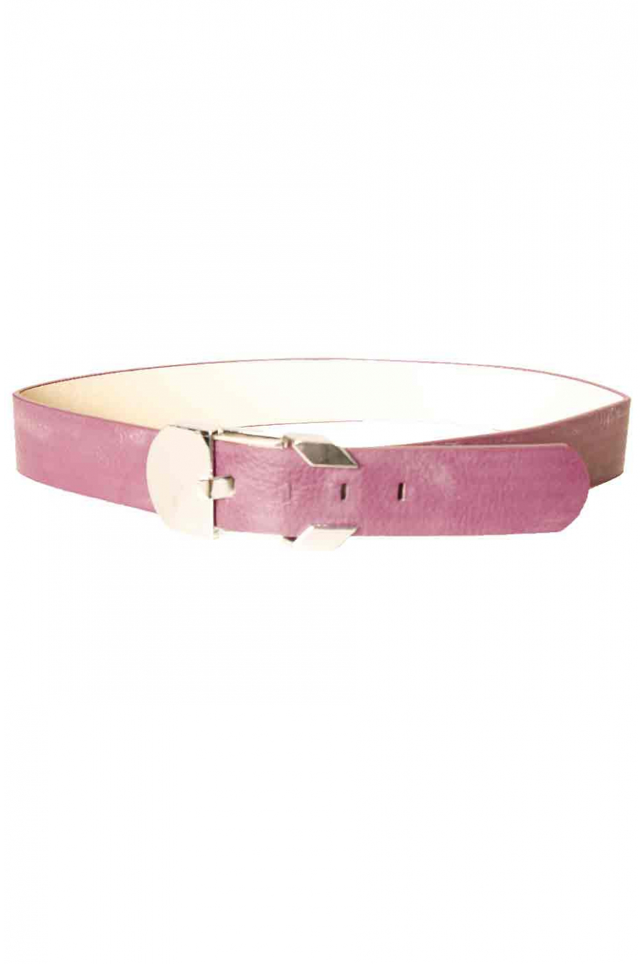 Purple belt with rectangle buckle X85-102