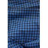 Jeggings bleu à carreaux avec poches arrières