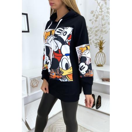 Zwarte Mickey en Disney sweaterjurk